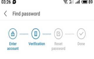 Восстанавливаем пароль от flyme